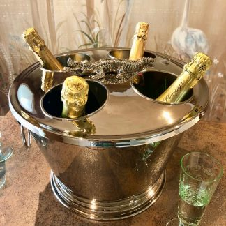Champagnerkühler KROKO Edzard ø 38 cm