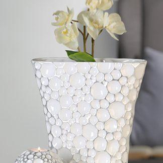 Vase MELINA Casablanca H 31 cm