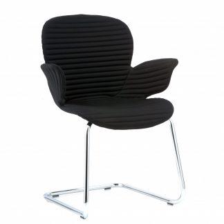 Köhl CALIXO® Design-Schalenstuhl mit Vollpolsterung Freischwinger