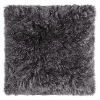 Dekokissen Magma CASHMERE anthrazit 40x40 cm