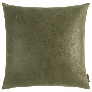 Dekokissen Magma JIMMY grün mit Federfüllung 50x50
