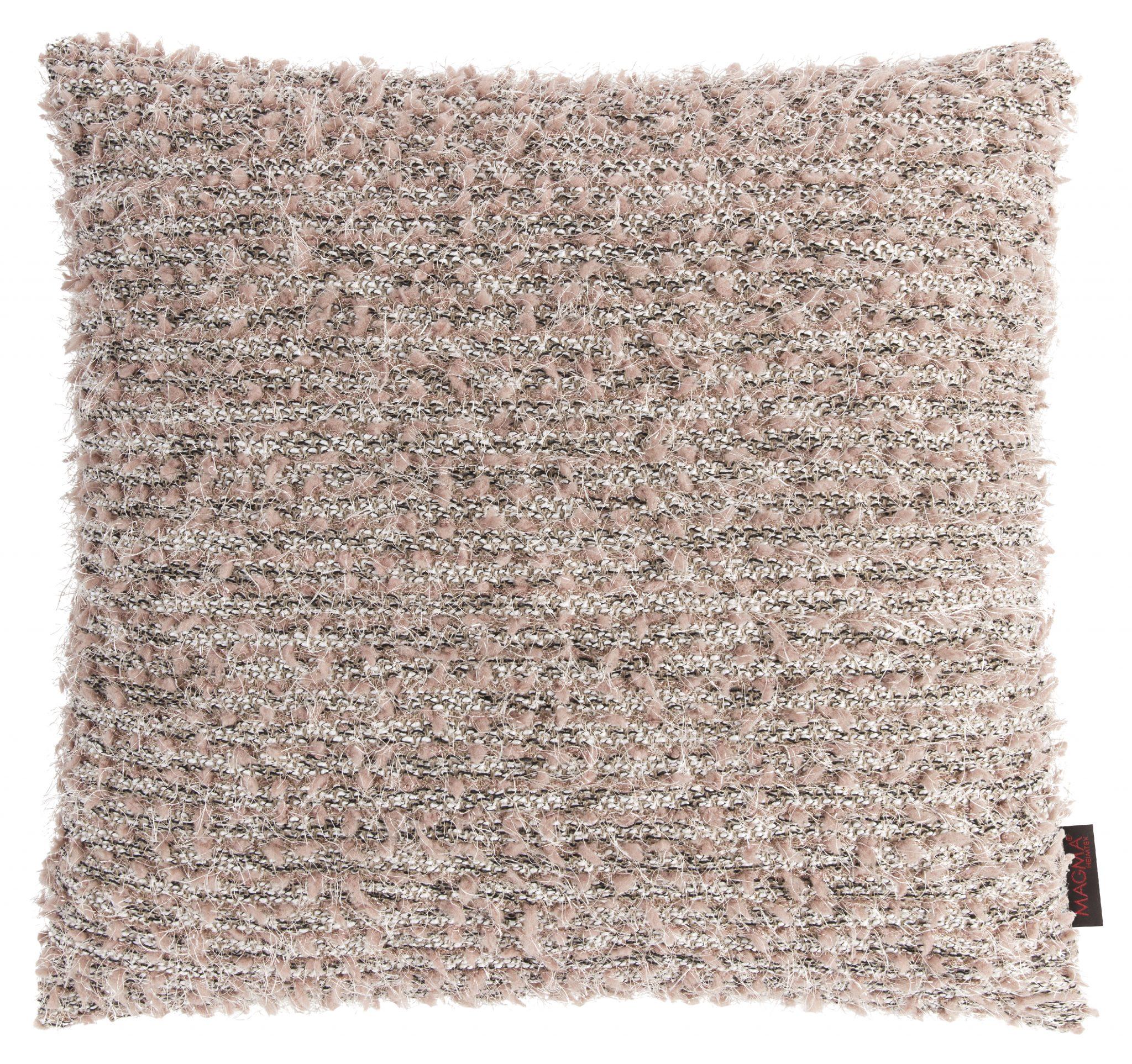 Dekokissen Magma LOLITA rose mit Federfüllung 50x50