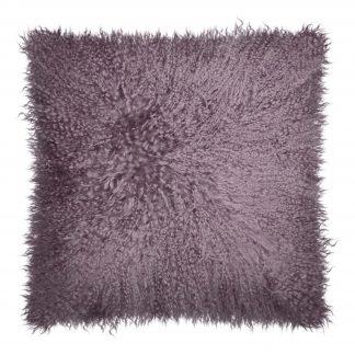 Dekokissen Magma PAMINA mauve 40x40 cm Echtfell