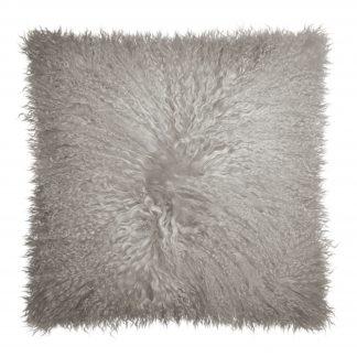 Dekokissen Magma PAMINA taupe 40x40 cm Echtfell