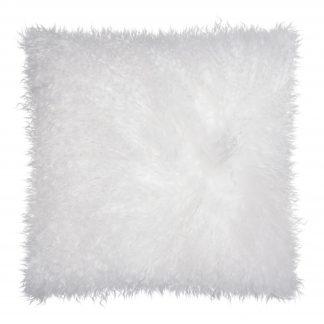 Dekokissen Magma PAMINA weiß 40x40 cm Echtfell