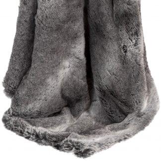Plaid Magma SKINS Silberfuchs 200x150 cm