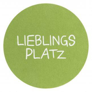 PLATZSET Lieblingsplatz AVARO Magma grün ø 38 cm