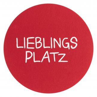 PLATZSET Avaro Lieblingsplatz Magma rot ø 38 cm