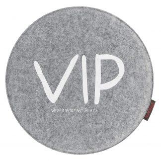 Stuhlkissen Magma VIP grau