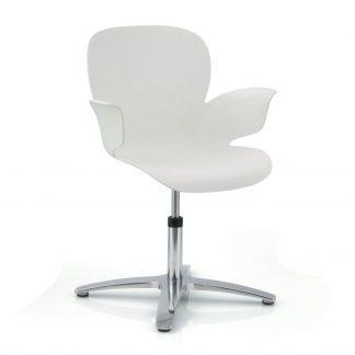 Köhl CALIXO® Design-Schalenstuhl drehbar auf Gleitern