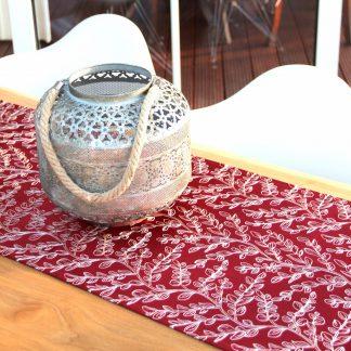 Tischläufer EDEN LAUREL cranberry