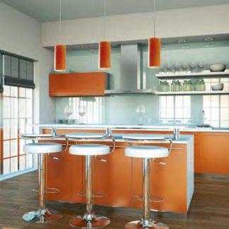 TUBO Pendelleuchte orange