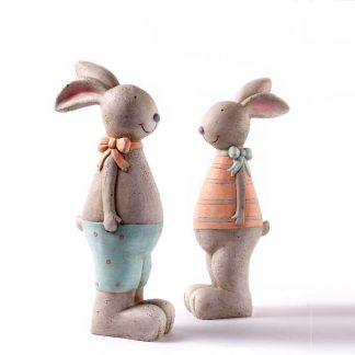 JONAH & SOPHIE Hasenpaar H 51 cm