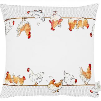 Kissen Apelt COUNTRY BREAKFAST HUHN 45x45