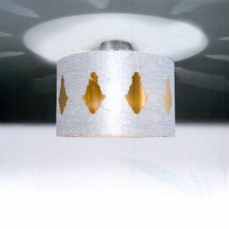 LAVINA Deckenleuchte argento