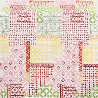Tischläufer | Tischdecke 5315 Apelt SPRING FEELINGS Patchwork 44x140 | 85 x 85