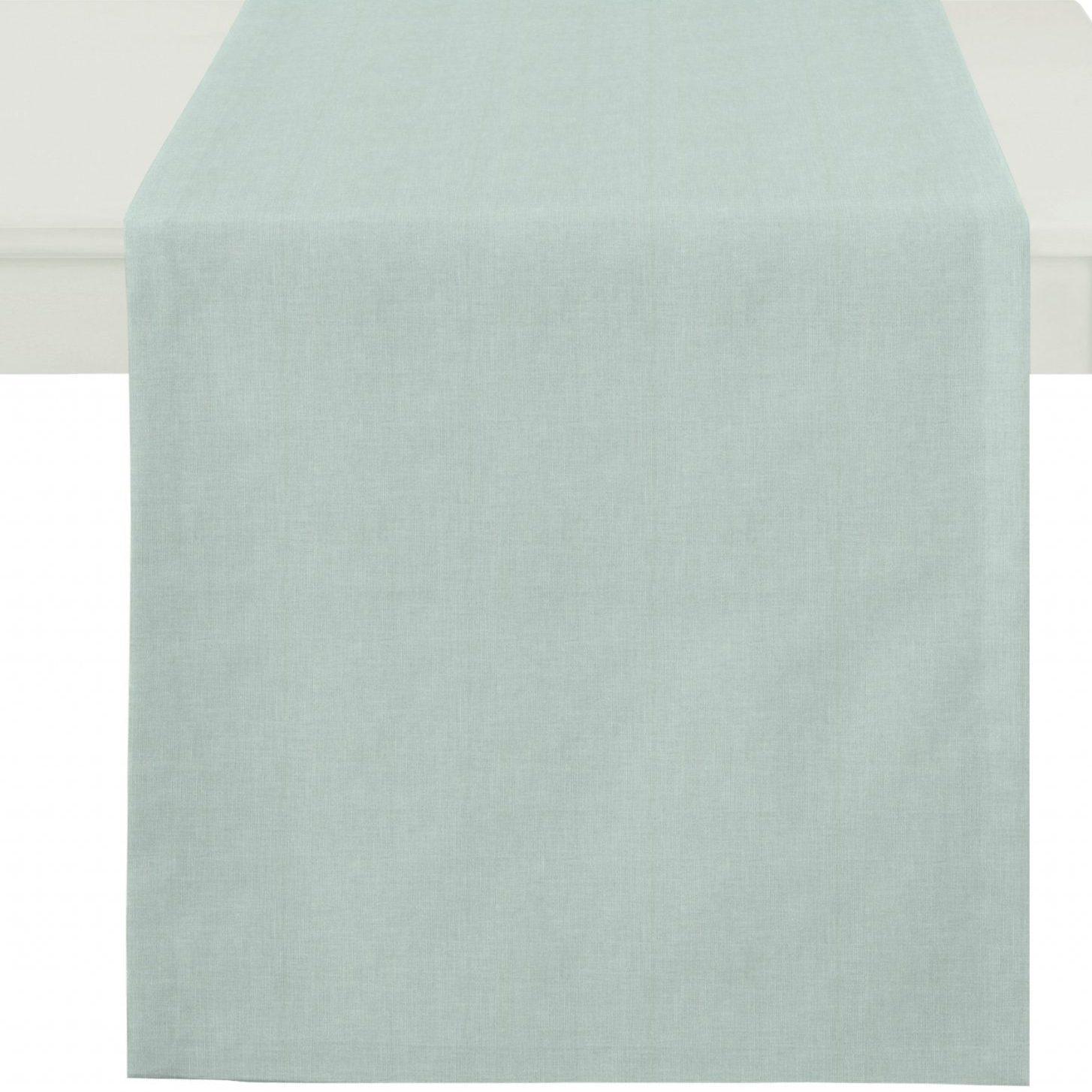 Tischläufer Apelt ALASKA taubenblau