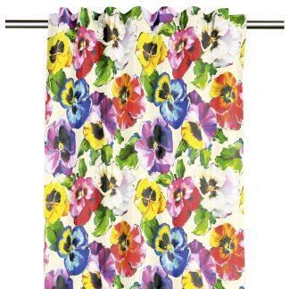 Schal mit Universalband Apelt 9584 FLOWERS H 245 cm