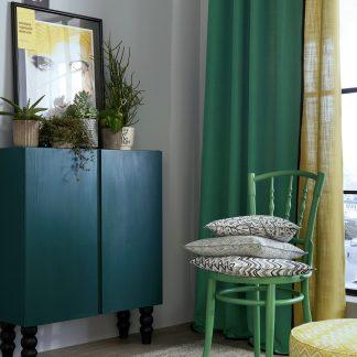 Ösenschal Apelt ARIZONA grün H 135 x 245 cm