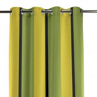 Ösenschal Apelt TASMAN gelb grün H 245 cm