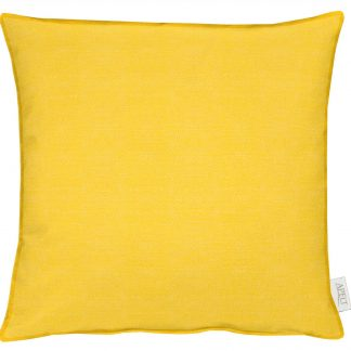 Dekokissen Apelt MORRIS mit Stehsaum gelb 45x45