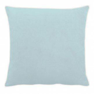Kissen Apelt TAHITI hellblau mit Keder 45x45 cm