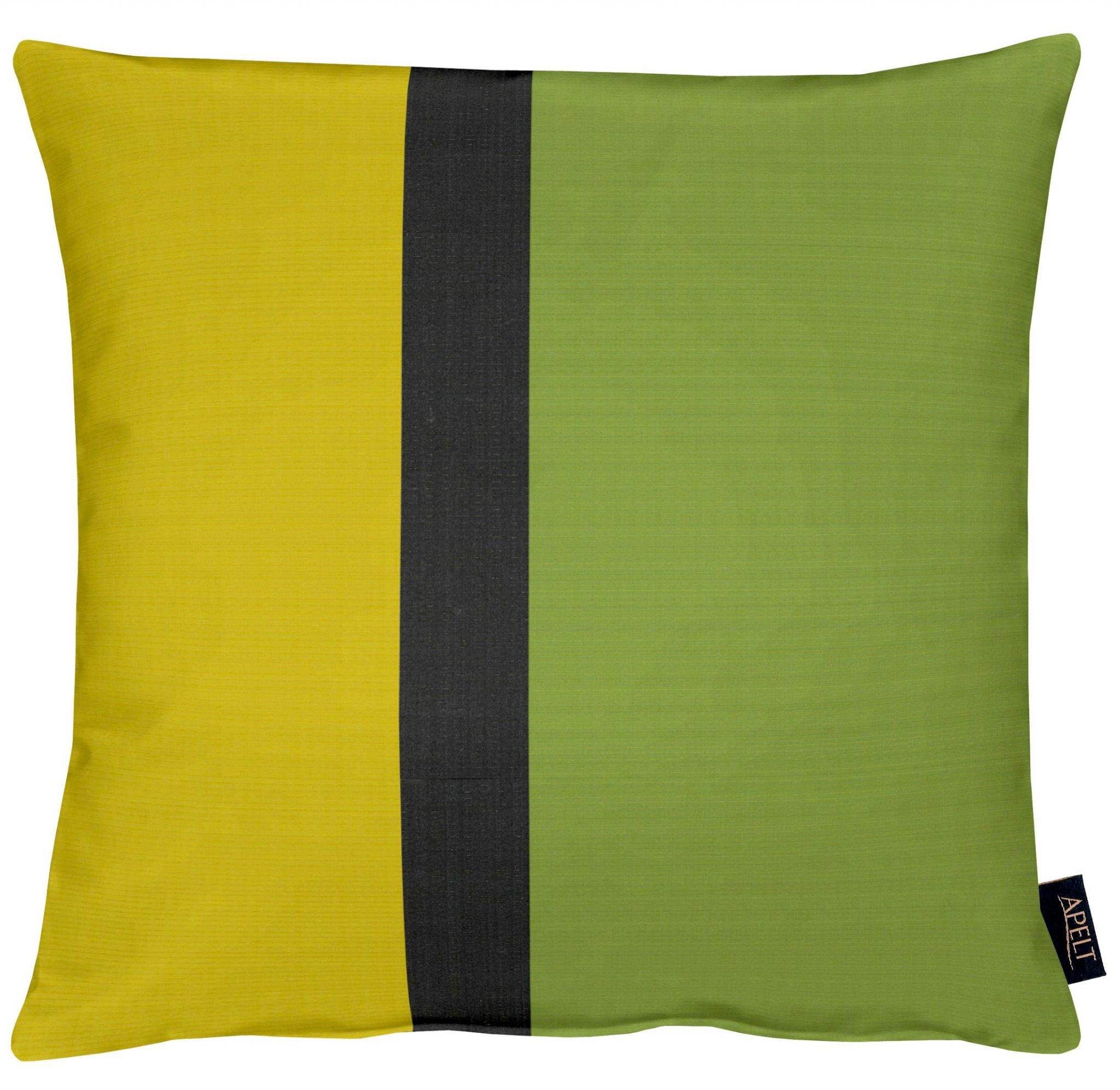 Dekokissen Apelt TASMAN grün gelb 45x45