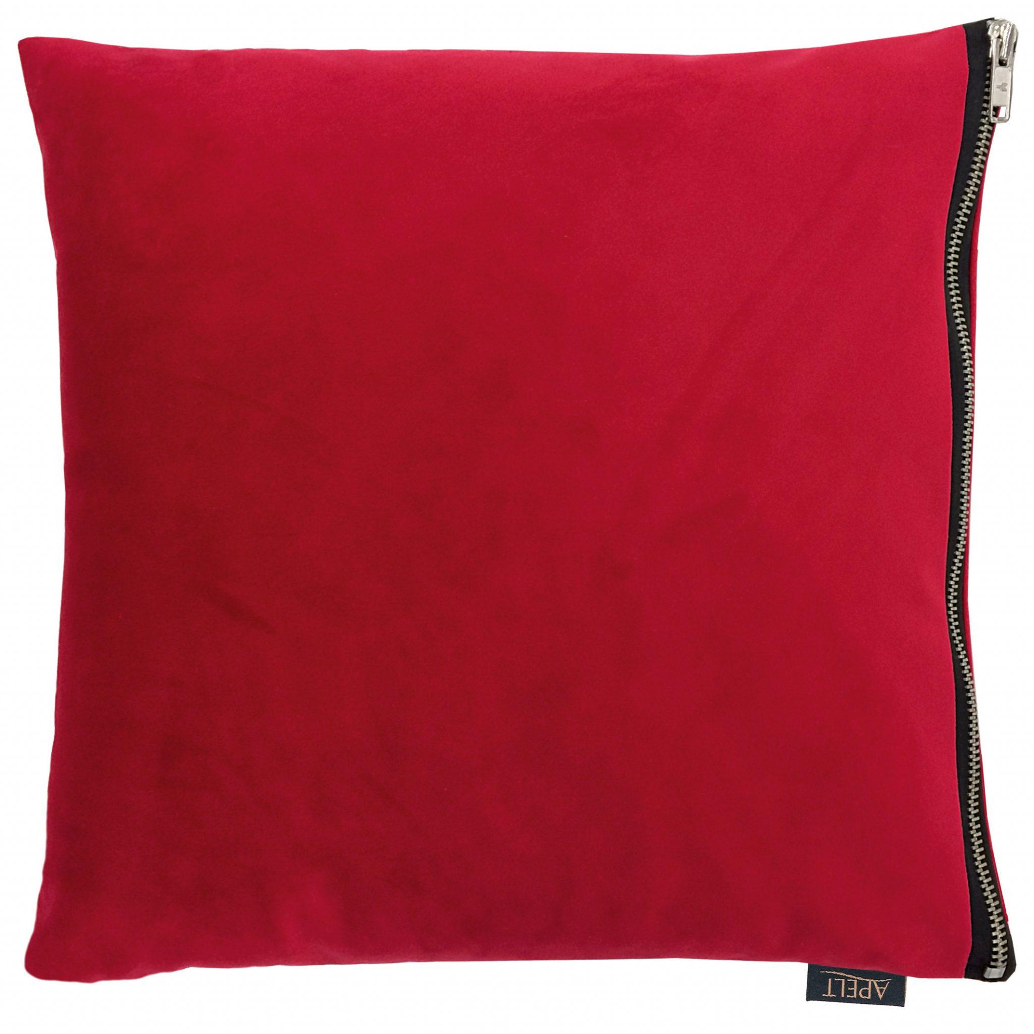 Dekokissen Apelt TASSILO rot 45x45