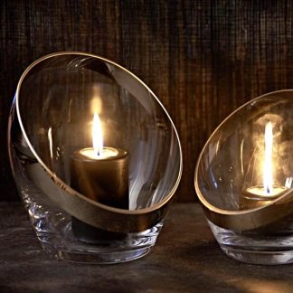 Vase ANTONIA Edzard silber H 21 cm