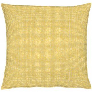 Dekokissen Apelt OUTDOOR  mit Stehsaum gelb 50x50