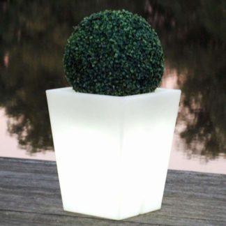 Gartenleuchte ANDREA Pflanzkübel H 60 cm