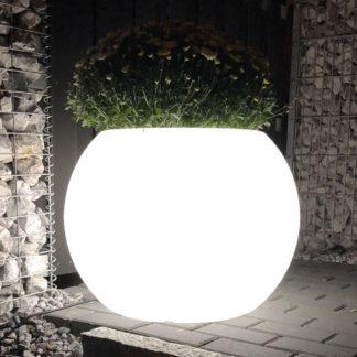 Gartenleuchte ANJA LED Pflanzkübel H 50 cm
