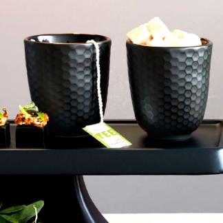Becher 4er-Set BLACK TEA ASA