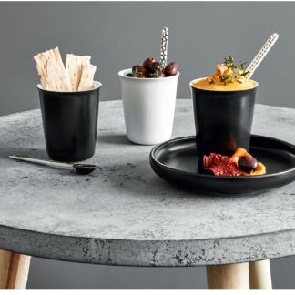 Espresso CUPS 4er-pack schwarz & weiß ASA