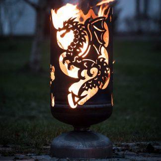 Feuerkorb DRACHE H 60 cm