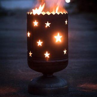 Feuerkorb STERNE H 60 cm