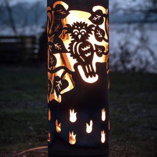 FeuerTonne LILIE  H 100 cm
