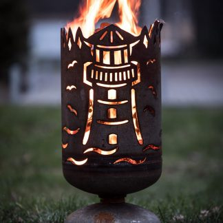 Feuerkorb LEUCHTTURM H 60 cm