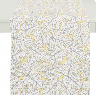 Tischläufer OUTDOOR 3953 Apelt gelb 48x140