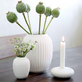 Vase HAMMERSHOI Kähler weiß H 25 cm
