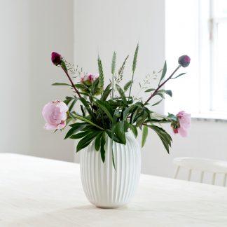 Vase HAMMERSHOI Kähler weiß H 20 cm