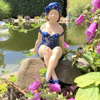 Figur Polly blau Casablanca H 21 | 10 cm