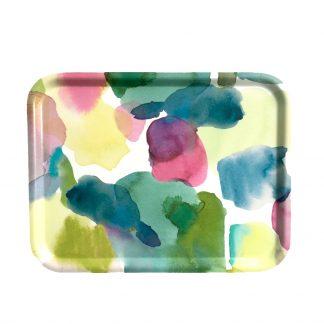 Tablett Bluebellgray ROTHESAY aus Birkenholz
