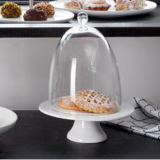 Tortenplatte 22,0 cm | Glasglocke 17,0 cm ASA