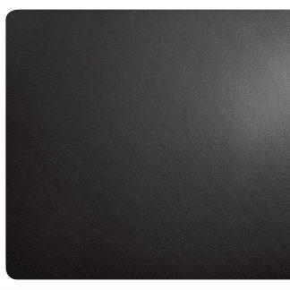 TISCHSET ASA Lederoptik schwarz 33 x 46 cm