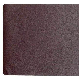 TISCHSET Lederoptik braun ASA ø 33 x 46 cm