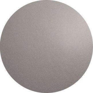TISCHSET Lederoptik cement ASA rund ø 38 cm