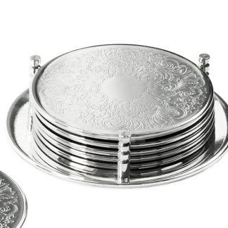 Untersetzer Br Gge Edzard Silber 324x324
