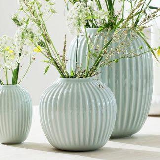 Vase HAMMERSHOI Kähler green 20 cm