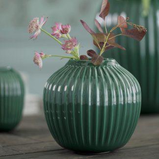 Vase HAMMERSHOI Kähler green H 12,5 cm